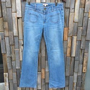 Cabi womans jeans size 4 hippie vintage retro look